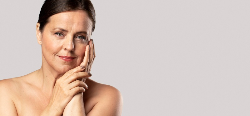 Cambios en la piel durante la menopausia